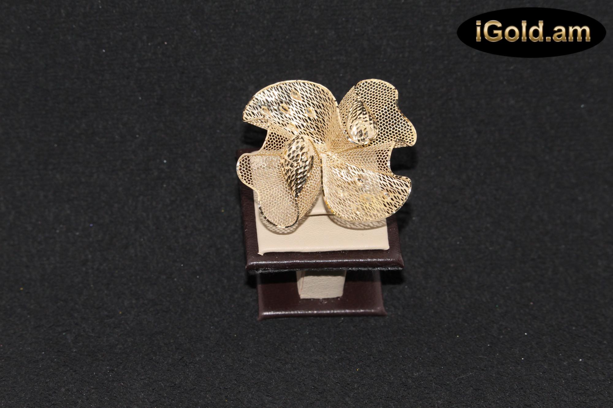 Ոսկյա կանացի մատանի - 7 գր - կոդ 128-105 voskya kanaci matani - 7 gr