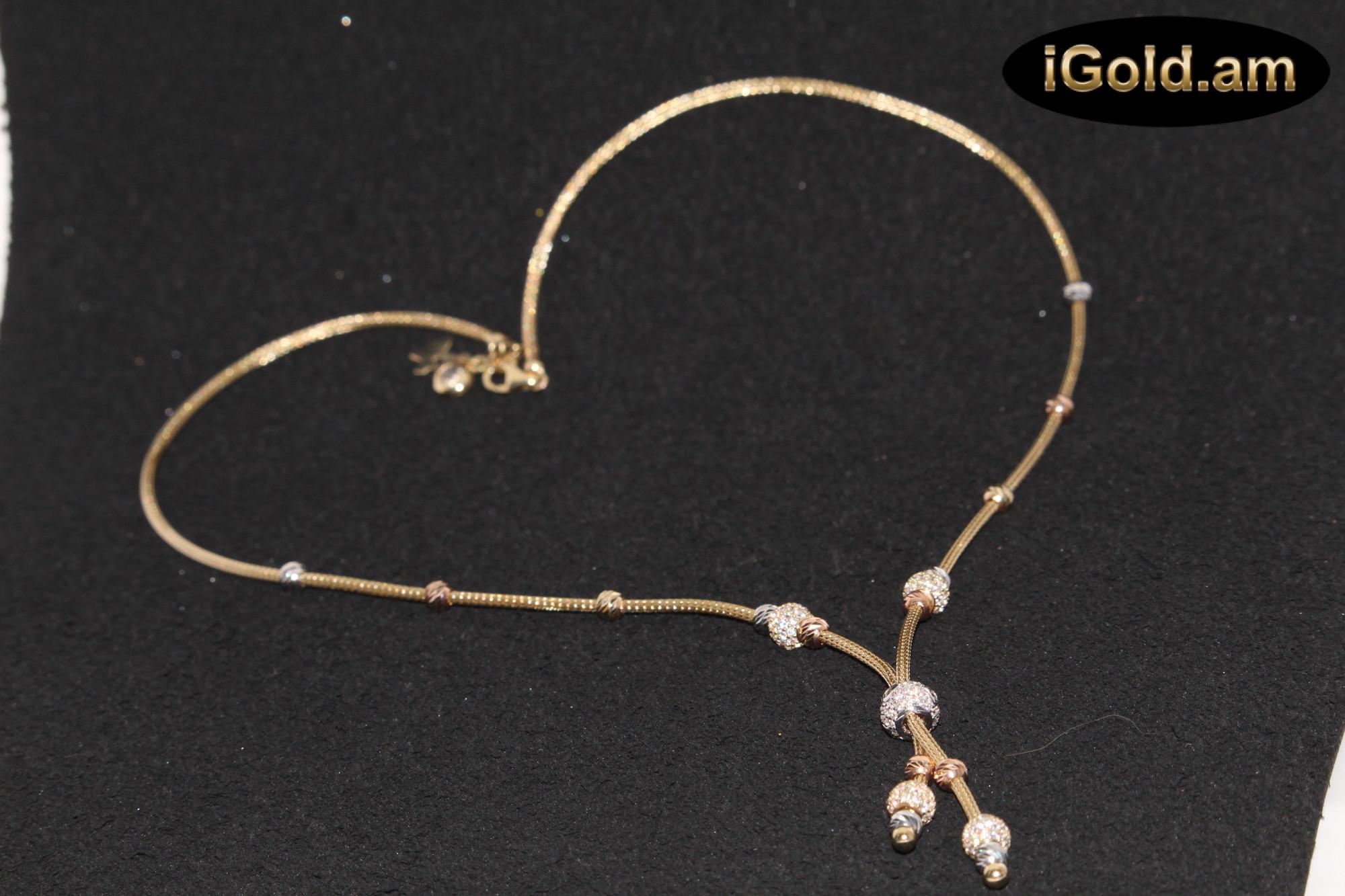 Ոսկյա կանացի շղթա - 11.5 գր - կոդ 114-138 voskya kanaci shxta - 11.5 gr