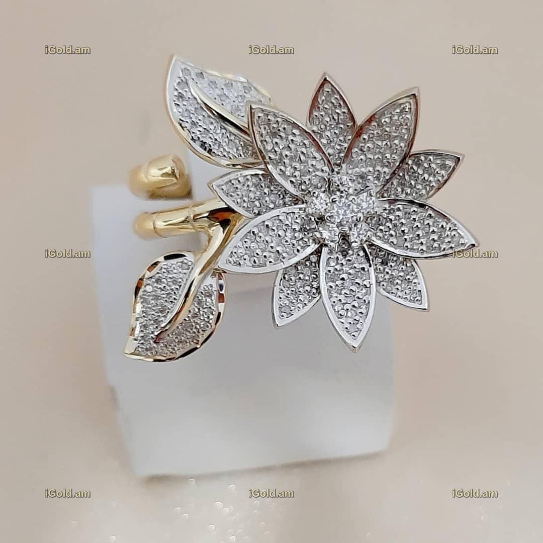 կանացի Էքսքլյուզիվ զարդեր՝ պատրաստված ոսկյա և ադամանդե - 11.7 գր - ԿՈԴ 152-617 kanaci Eqsqlyuziv zarder՝ patrastvac voskya ev adamande - 11.7 gr