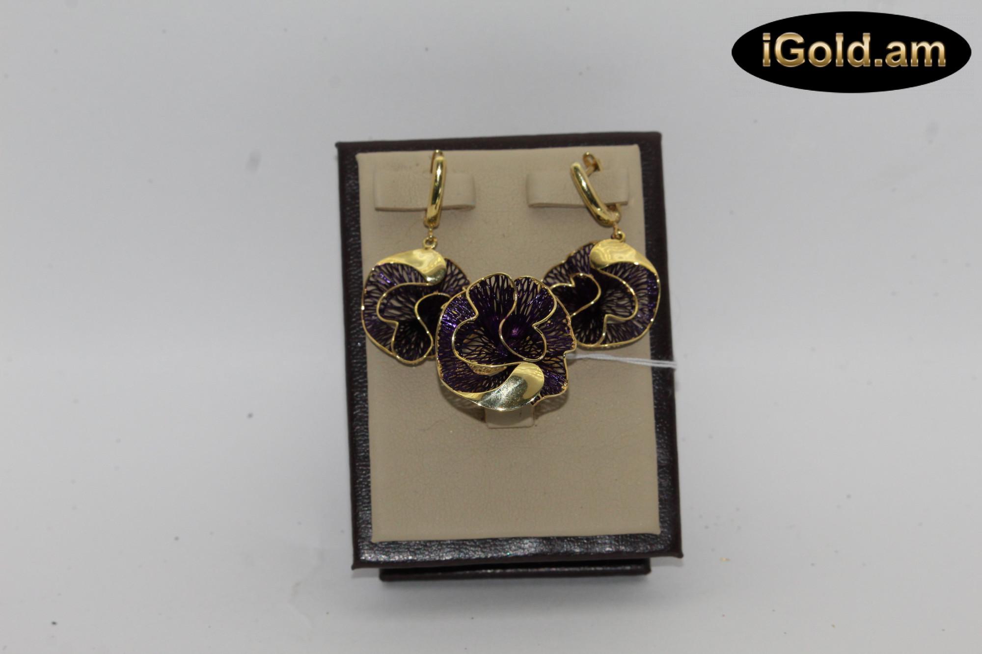 Ոսկյա կանացի հավաքածու - 10 գր - կոդ 139-121 voskya kanaci havaqacu - 10 gr