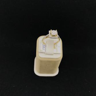 Ոսկյա կանացի մատանի ադամանդով - 3.3 - կոդ 151-914 voskya kanaci matani adamandov - 3.3