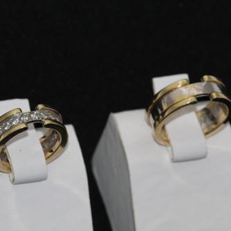 Ամուսնական մատանիներ կանացի, տղամարդու - 7 գր - կոդ 117-104 amusnakan mataniner kanaci, txamardu - 7 gr