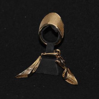 Ոսկյա կանացի հավաքածու - 7.1 գր - կոդ 132-134 voskya kanaci havaqacu - 7.1 gr