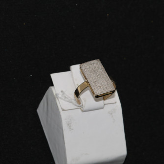 Ոսկյա կանացի մատանի - 2.93 գր - կոդ 105-115 voskya kanaci matani - 2.93 gr