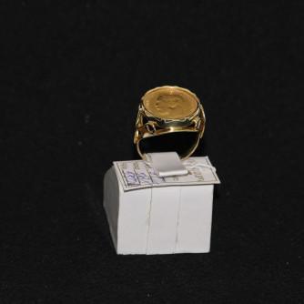 Ոսկյա տղամարդու մատանի - 9 գր - կոդ 109-132 voskya txamardu matani - 9 gr