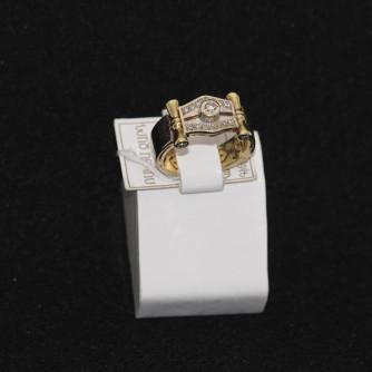 Ոսկյա տղամարդու մատանի ադամանդով - 11.6 գր - կոդ 133-108 voskya txamardu matani adamandov - 11.6 gr