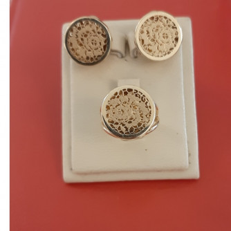 կանացի հավաքածու ՝ պատրաստված ոսկյա և - 7.8 գր - ԿՈԴ 152-926 kanaci havaqacu ՝ patrastvac voskya ev - 7.8 gr