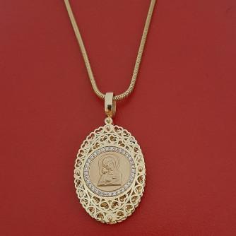 կանացի կուլոն ՝ պատրաստված ոսկյա և - 11.8 գր - ԿՈԴ 152-828 kanaci kulon ՝ patrastvac voskya ev - 11.8 gr