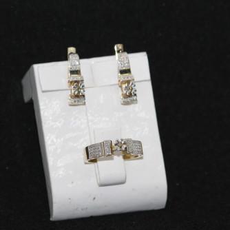 Ոսկյա կանացի հավաքածու - 10 գր - կոդ 105-132 voskya kanaci havaqacu - 10 gr