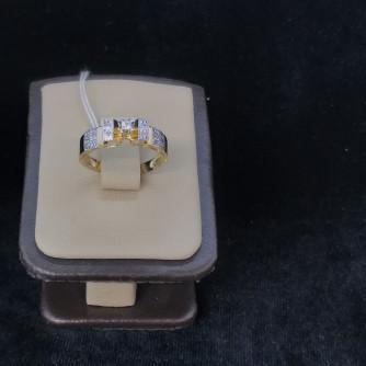 Ոսկյա կանացի մատանի ադամանդով - 1.99 - կոդ 151-806 voskya kanaci matani adamandov - 1.99