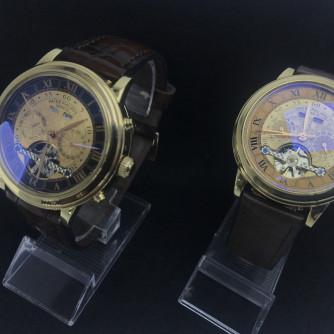 Ոսկյա կանացի, տղամարդու ժամացույց - 12 - կոդ 151-950 voskya kanaci, txamardu jamacuyc - 12