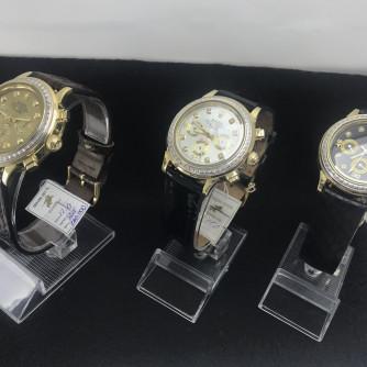 Ոսկյա, կանացի, տղամարդու ժամացույց ադամանդով - 12 - կոդ 151-945 voskya, kanaci, txamardu jamacuyc adamandov - 12