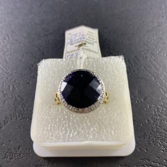 ոսկյա կանացի մատանի ադամանդով - 6.5 - ԿՈԴ 152-473 voskya kanaci matani adamandov - 6.5