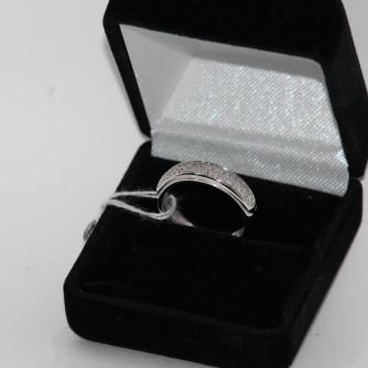 Ամուսնական մատանիներ կանացի ադամանդով - 3.5 գր - կոդ 142-137 amusnakan mataniner kanaci adamandov - 3.5 gr