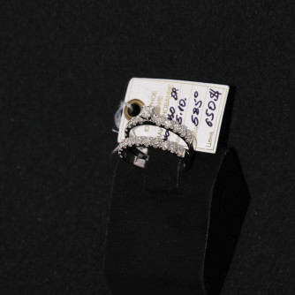 Ամուսնական մատանիներ կանացի ադամանդով - 5.1 գր - կոդ 131-135 amusnakan mataniner kanaci adamandov - 5.1 gr