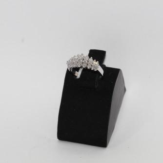 Ոսկի կանացի մատանի ադամանդով - 5.1 գր - կոդ 142-148 voski kanaci matani adamandov - 5.1 gr