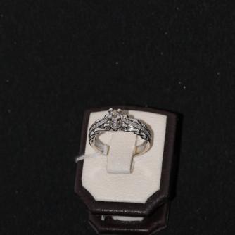 Նշանադրեքի մատանիներ կանացի ադամանդով - 5.2 գր - կոդ 131-117 nshanadreqi mataniner kanaci adamandov - 5.2 gr