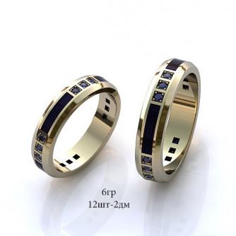 Ամուսնական մատանիներ կանացի, տղամարդու ադամանդով - 7 գր - կոդ 110-123 amusnakan mataniner kanaci, txamardu adamandov - 7 gr