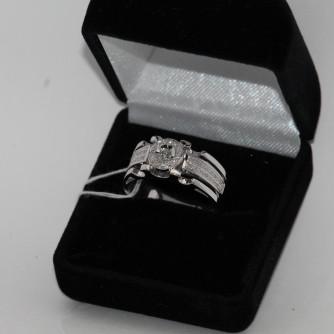 Ամուսնական մատանիներ տղամարդու ադամանդով - 9 գր - կոդ 147-141 amusnakan mataniner txamardu adamandov - 9 gr