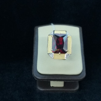 Ոսկյա տղամարդու մատանի ադամանդով, - 7.8 - կոդ 151-816 voskya txamardu matani adamandov, - 7.8